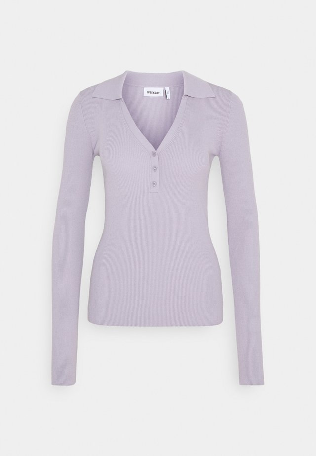 FLAVIA - Long sleeved top - purple dusty light