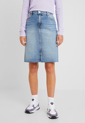 SKIRT MAIA - Denimová sukně - light-blue denim