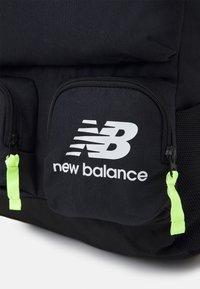 New Balance - ATHLETICS TERRAIN BACKPACK UNISEX - Ryggsäck - black/bleached lime - 4