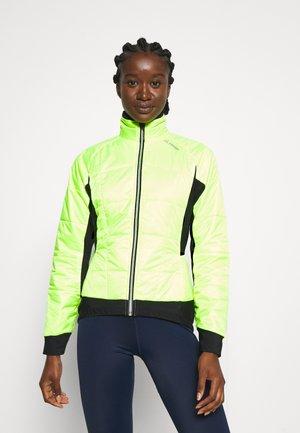 BIKE ISO JACKET HOTBOND - Zimní bunda - neon yellow