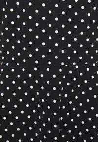 Lauren Ralph Lauren - PRINTED TECH DRESS - Day dress - black - 5