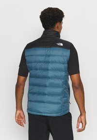 The North Face - ACONCAGUA VEST - Waistcoat - black mallard/blue - 2