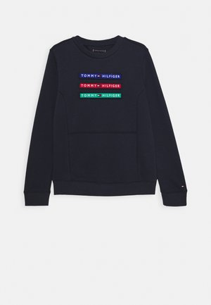 MULTI BADGE - Sweatshirts - blue