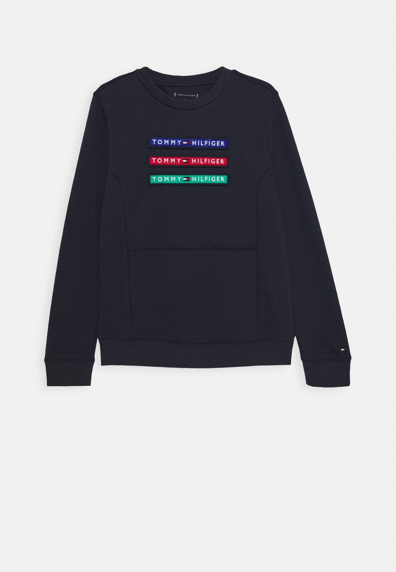 Tommy Hilfiger - MULTI BADGE - Sweater - blue