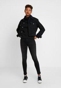 ONLY - ONLNEO COWLNECK - Sweatshirt - black - 1