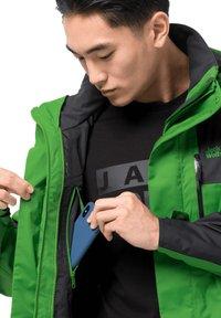Jack Wolfskin - JASPER FLEX  - Hardshell jacket - basil green - 5