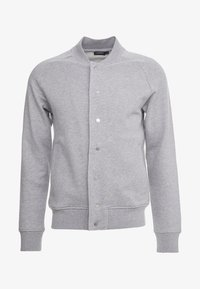 J.LINDEBERG - JASPER  STRUCTURE - Zip-up hoodie - grey melange - 3
