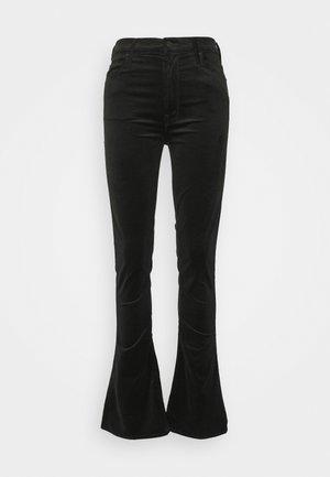 HIGH WAISTED RUNAWAY  - Trousers - black