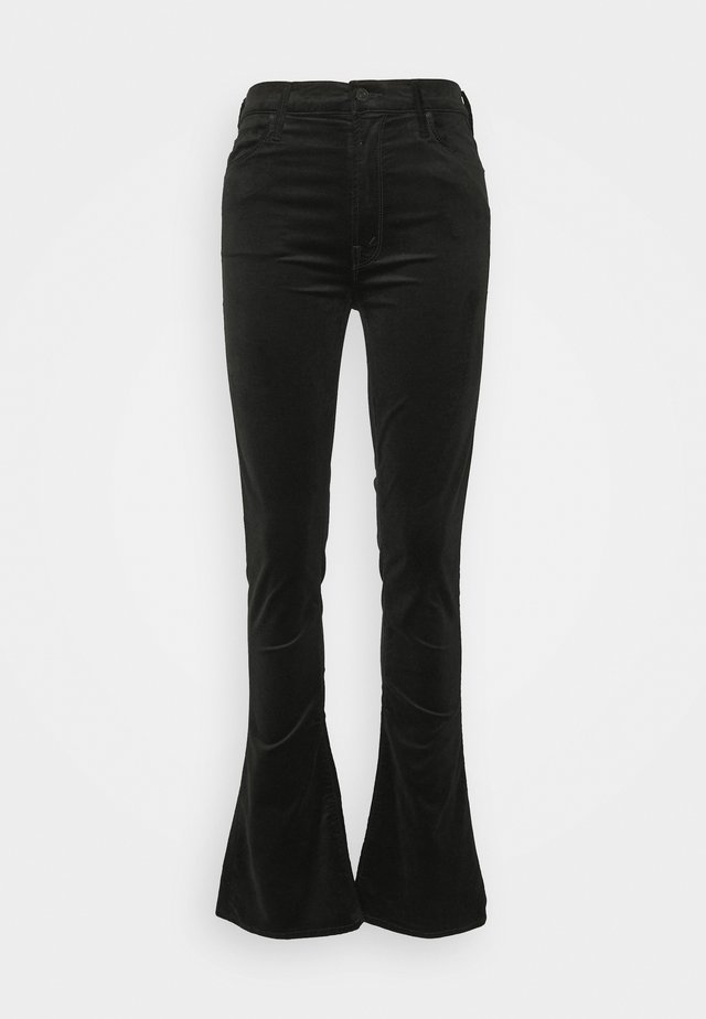HIGH WAISTED RUNAWAY  - Pantalon classique - black