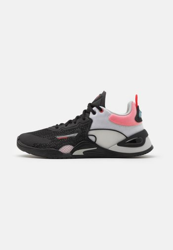 FUSE - Sports shoes - black/poppy red/gray violet