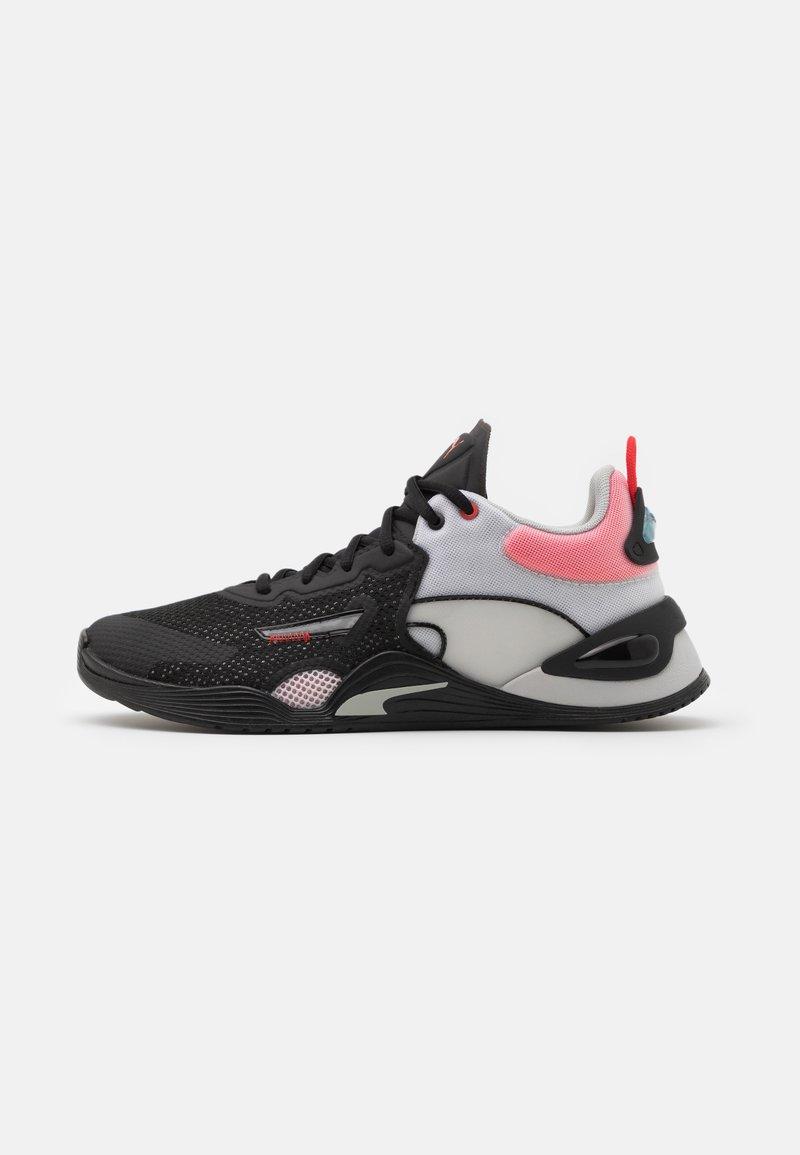 Puma - FUSE - Scarpe da fitness - black/poppy red/gray violet