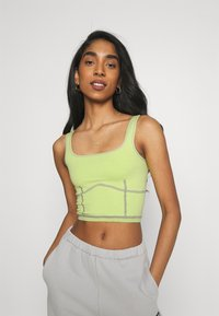 BDG Urban Outfitters - SEAMLESS TANK - Top - lime - 0