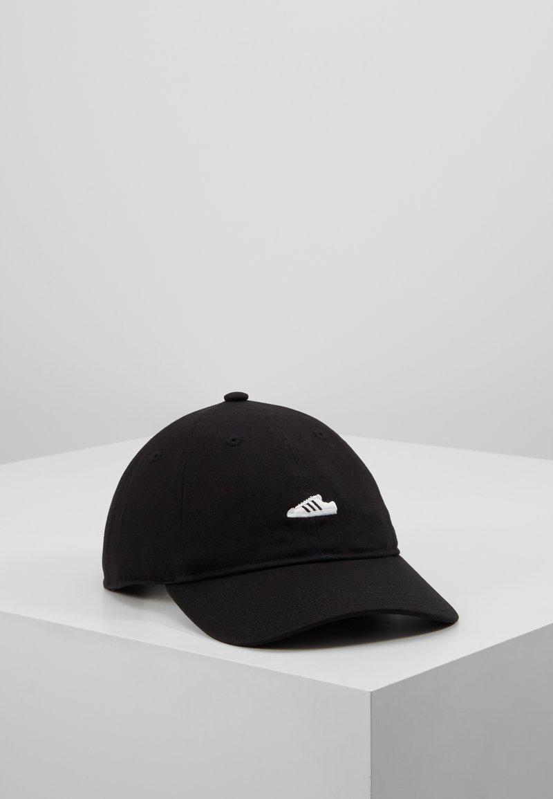 adidas Originals - SUPERSTAR UNISEX - Cap - black/white