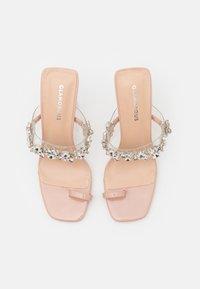 Glamorous - Pantofle na podpatku - nude - 5