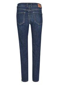 Angels - ANKLE ZIP SHINE' MIT MODISCHEN DETAILS - Jeans Skinny Fit - blue denim - 1