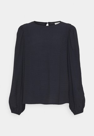 BLOUSE - Long sleeved top - midnight marine