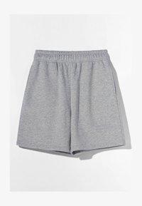 Bershka - Shorts - light grey - 4