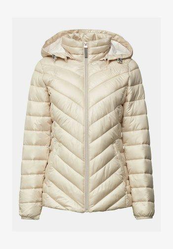 Winter jacket - cream beige