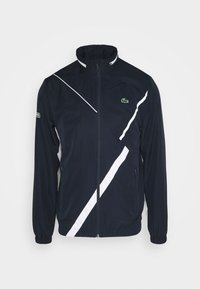 Lacoste Sport - SET TENNIS TRACKSUIT HOODED - Survêtement - navy blue/white - 1