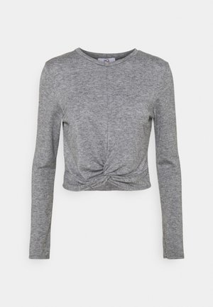THIERRY LOUNGE - Long sleeved top - grey marl