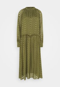 Love Copenhagen - RATANA DRESS - Korte jurk - bronze green - 0