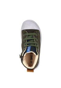 Shoesme - Veterboots - groen - 1