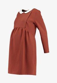 Paula Janz Maternity - DRESS BOSSA NOVA NURSING - Denní šaty - cayenne - 6