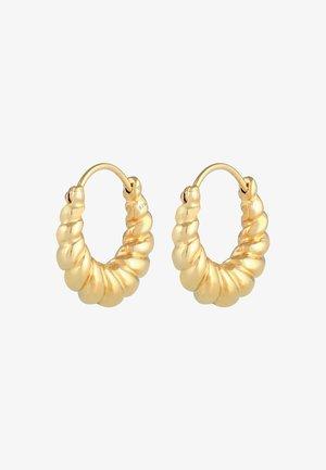 HOOPS DESIGN - Orecchini - gold