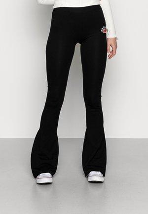 ALBA - Leggings - Trousers - black