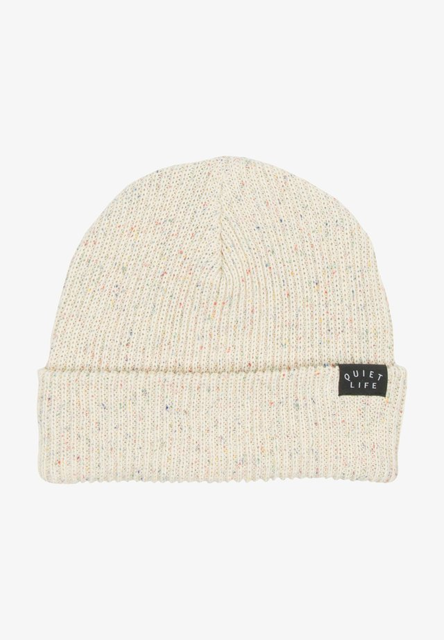 Beanie - cream speckle