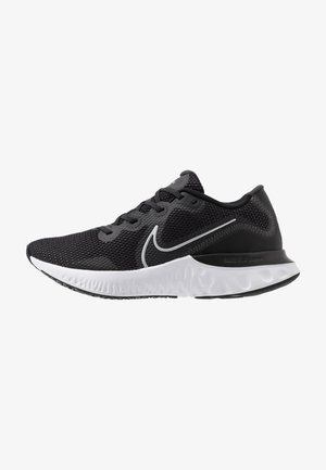 RENEW RUN - Neutral running shoes - black/metallic silver/white/dark smoke grey/particle grey