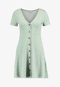 Envii - ENMUSIC DRESS - Jersey dress - light green/black - 4