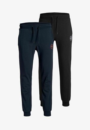 JJIGORDON JJSHARK PANTS 2 PACK - Tracksuit bottoms - navy blazer