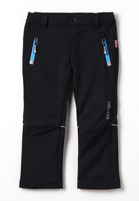 TrollKids - KIDS FJELL PANT - Długie spodnie trekkingowe - black - 0