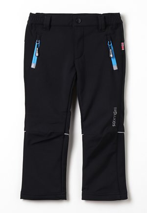 KIDS FJELL PANT - Outdoorbroeken - black