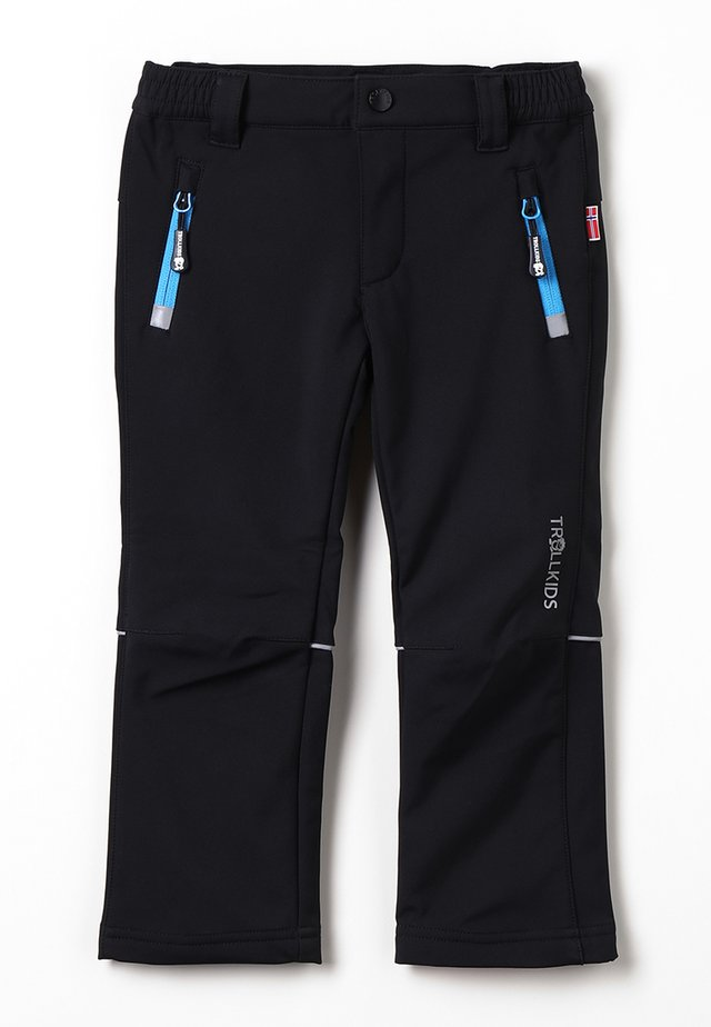 KIDS FJELL PANT - Outdoor trousers - black
