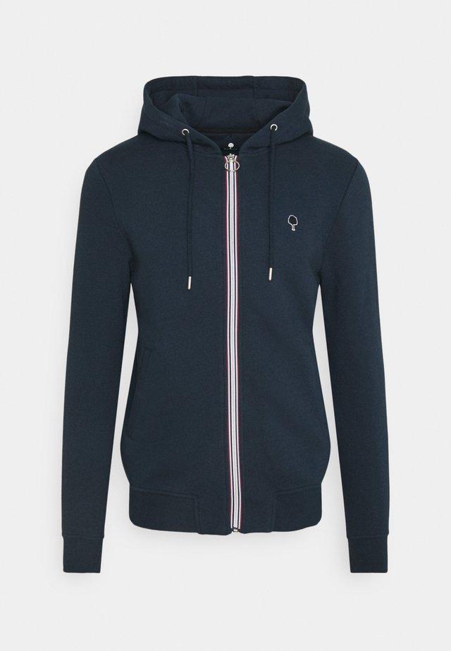 UNISEX MESNIL - Zip-up hoodie - navy