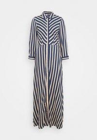 YAS Tall - YASSAVANNA STRIPE LONG DRESS - Maxi dress - ensign blue - 0