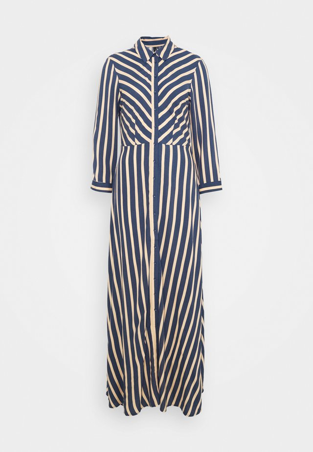 YASSAVANNA STRIPE LONG DRESS - Maxi dress - ensign blue