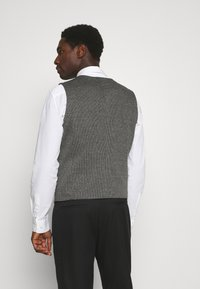 TOM TAILOR - HOUNDSTOOTH - Waistcoat - grey houndstooth - 2