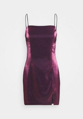 LADIES DRESS - Cocktail dress / Party dress - pink metallic
