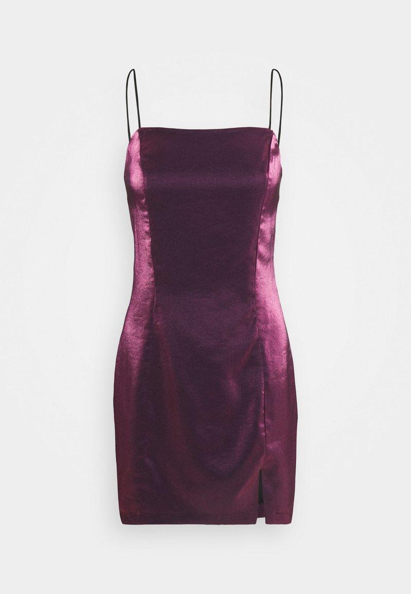 Glamorous Petite - LADIES DRESS - Cocktail dress / Party dress - pink metallic