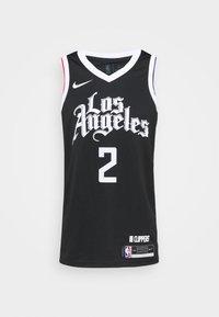 Nike Performance - NBA LOS ANGELES CLIPPERS KAWHI LEONARD CITY EDITION SWINGMAN - Article de supporter - black/white - 4