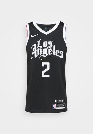 NBA LOS ANGELES CLIPPERS KAWHI LEONARD CITY EDITION SWINGMAN - Article de supporter - black/white