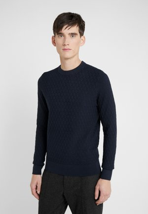 ARTHUR MINI STRUCTURE - Pullover - navy
