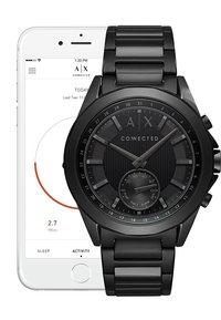 Armani Exchange Connected - Smartwatch - glänzend/gebürstet/ schwarz - 4
