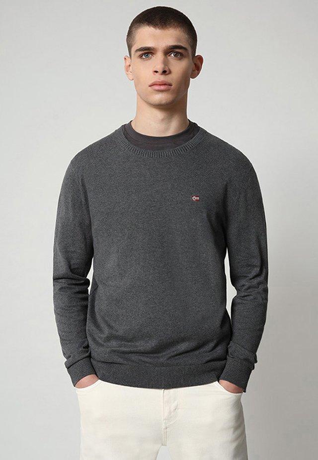 DECATUR - Pullover - dark grey melange