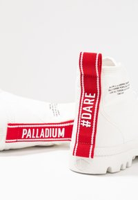 Palladium - PAMPA HI DARE UNISEX - Lace-up ankle boots - star white - 5