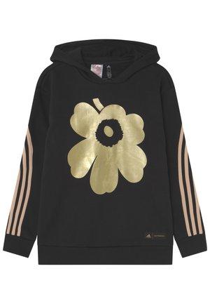 G MM U - Hoodie - black/gold met