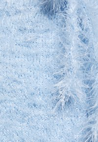 Miss Selfridge Petite - EYELASH TOP AND SHORT SET - Kraťasy - light blue - 6